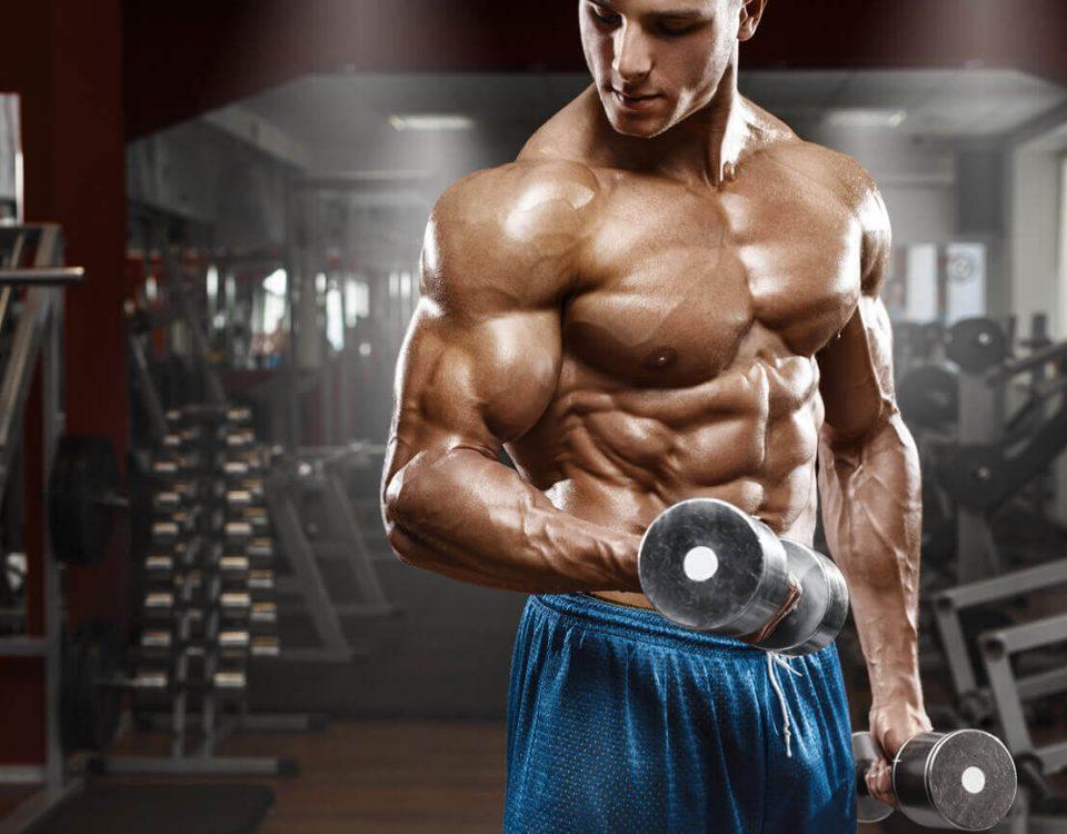 Treino de definição muscular, divisão ABC, 3 dias na semana, sexo masculino