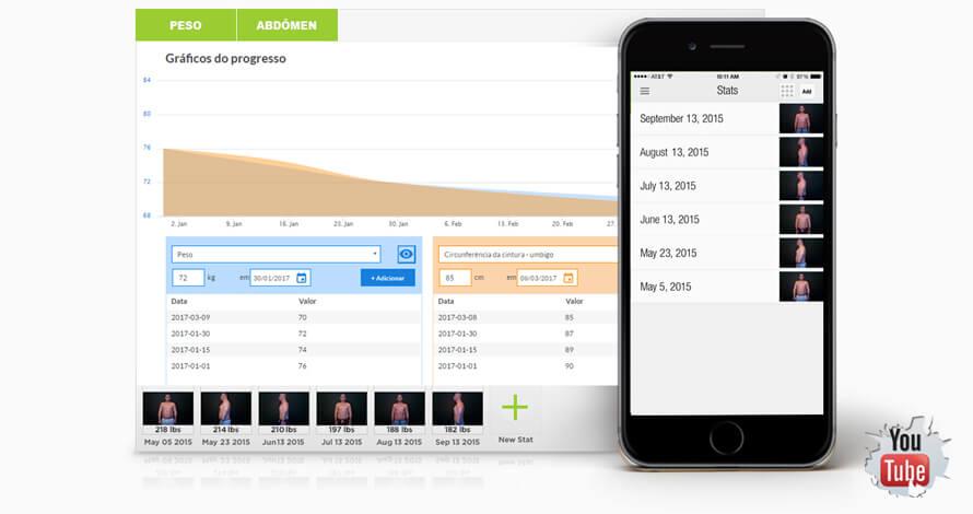 Slide app_avaliação física
